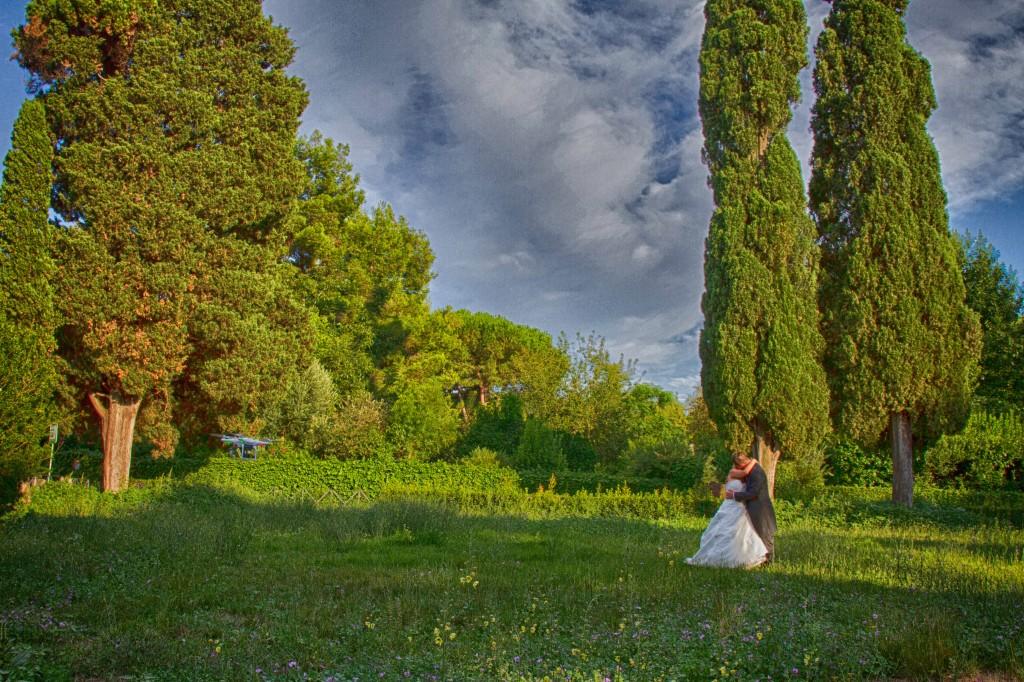 servizio fotografico di matrimonio a cecilia metella