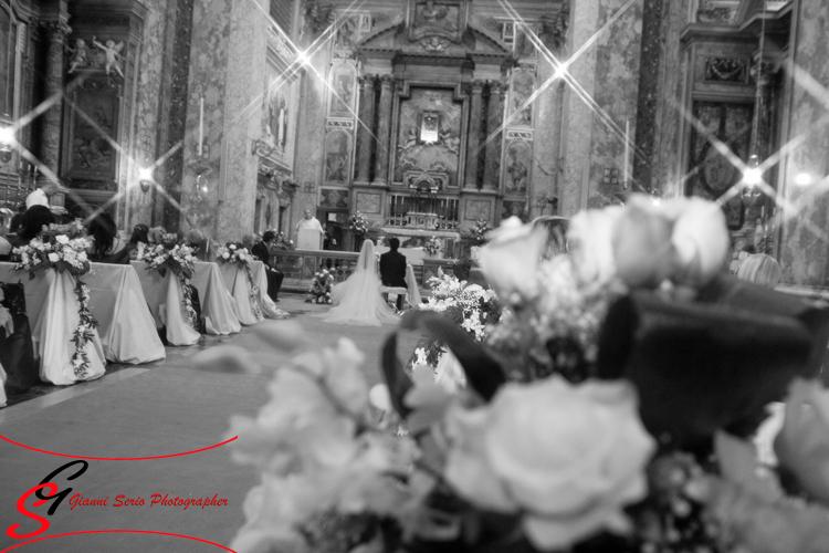 fotografo matrimonio reportage chiesa san domenico e sisto